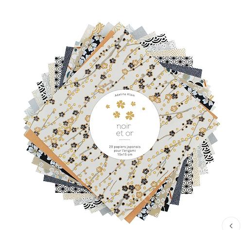 Adeline Klam — 20 papiers Origami assortis