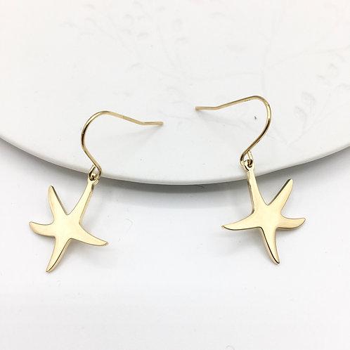 Omacoo — Boucles d'oreilles Etoile de mer