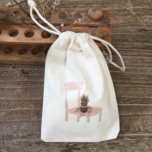Lovely Envelopes  — Pochon coton Chaise