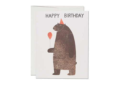 Red Cap Cards — Carte Party Bear