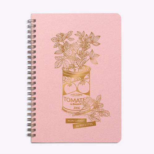 Les Éditions du Paon — Carnet de Recettes Jolie Conserve Rose