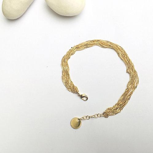 Exquises Indécises — Bracelet Line chaine