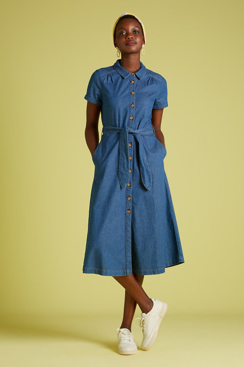 King Louie — Robe Olive Chambray