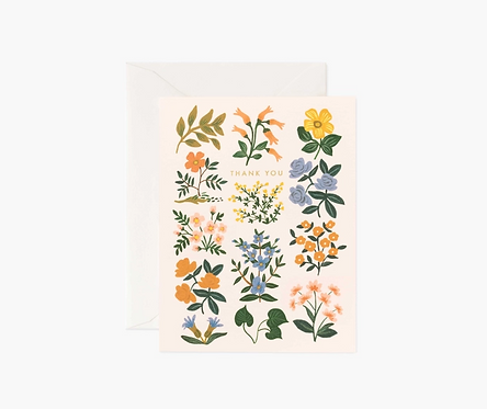 Rifle Paper co. — Carte Wildwood Thank you