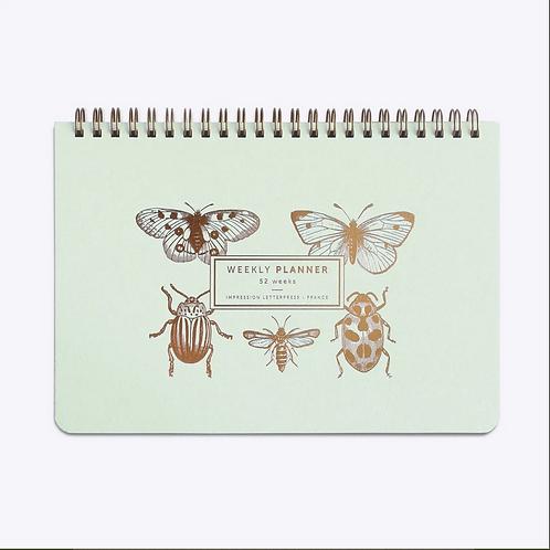 Les Éditions du Paon — Semainier Papillons & cie