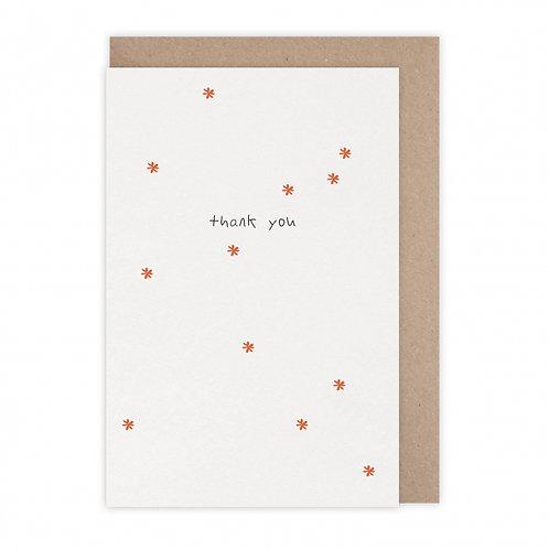 Monsieur Papier — Carte Thank You
