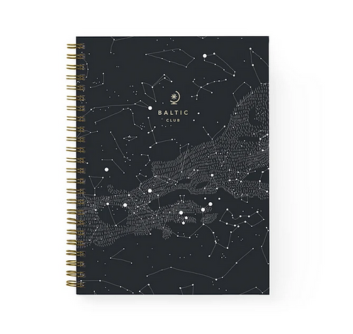 Baltic Club — Cahier à spirales Constellations