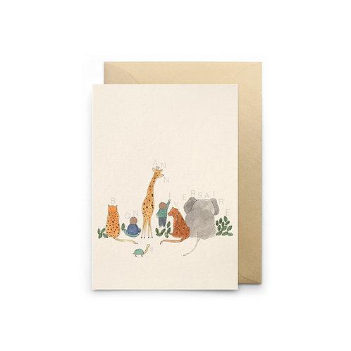 Petit Gramme — Carte Animalversaire