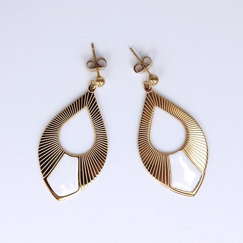 Omacoo — Boucles d'oreilles Pétales