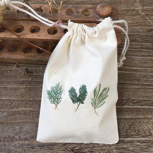 Lovely Envelopes  — Pochon coton Herbier