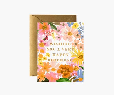Rifle Paper co. — Carte Marguerite Birthday
