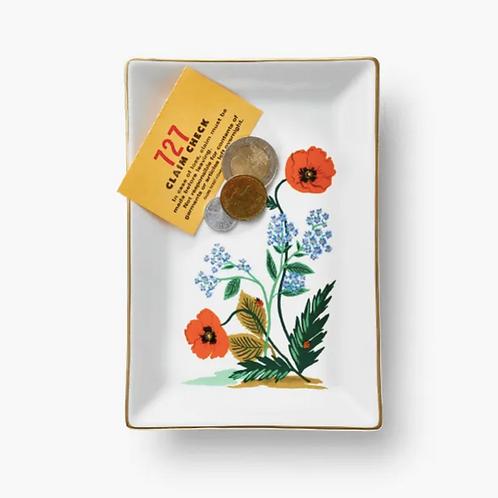 Rifle Paper co. — Coupelle Poppy Botanical