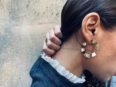 Exquises Indécises — Boucles d'oreilles Arco