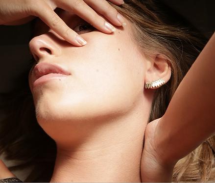 Stalactite — Boucles d'oreilles Élise