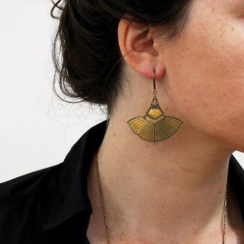 Amélie Blaise — Boucles d'oreilles Volubilis 2