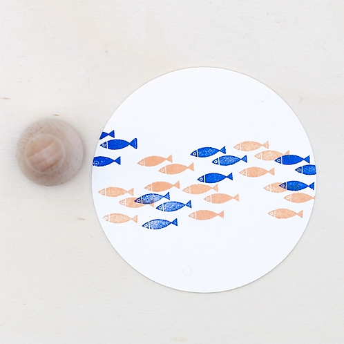 Perlenfischer — Tampon 3 Poissons