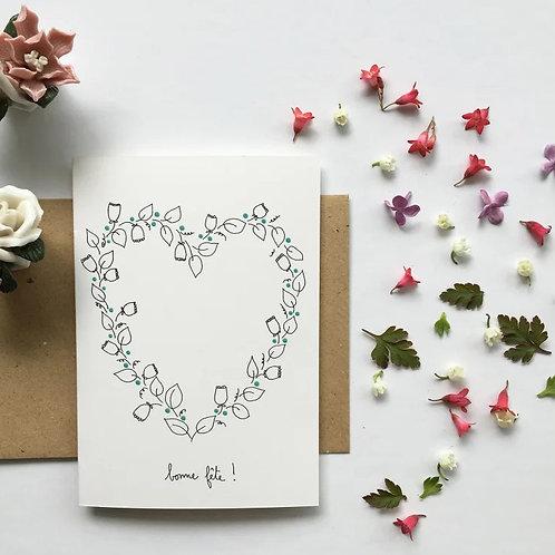 Papillon Papillonage — Carte Bonne fête !