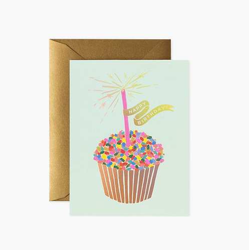 Rifle Paper co. — Carte Cupcake Birthday