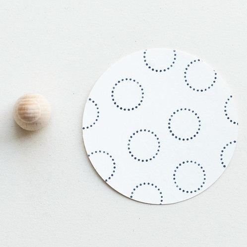 Perlenfischer — Tampon Cercle pointillé