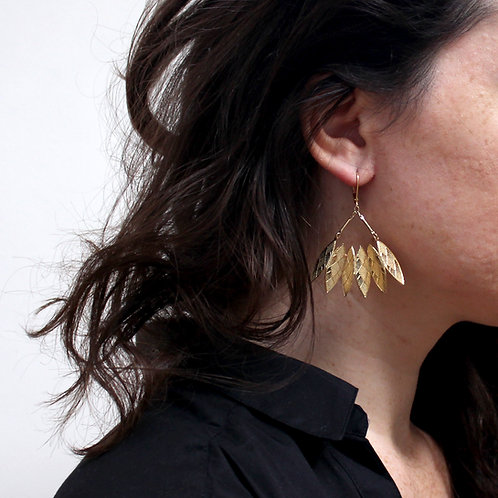 Amélie Blaise — Boucles d'oreilles Physalis 1