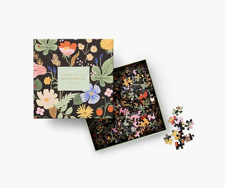 Rifle Paper co. — Puzzle Strawberry Fields
