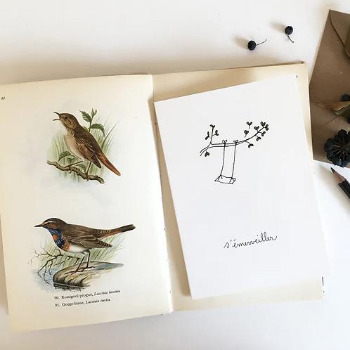 Papillon Papillonnage — Carte Balançoire