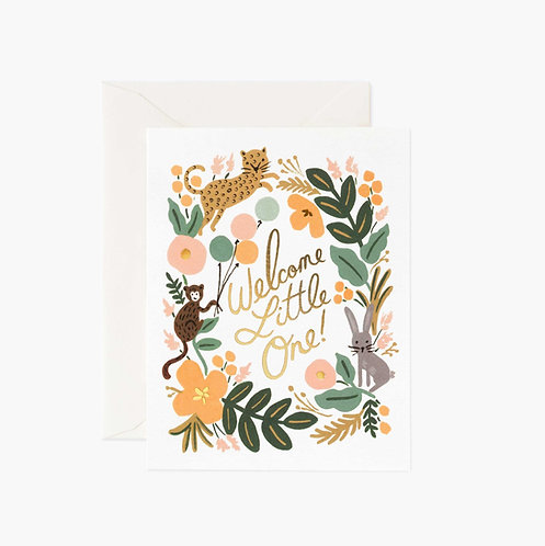 Rifle Paper co. — Carte Menagerie Baby