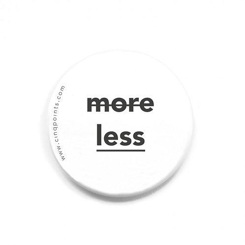 Cinqpoints — Badge Blanc