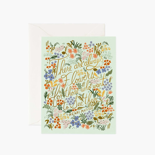 Rifle Paper co. — Carte Matisse