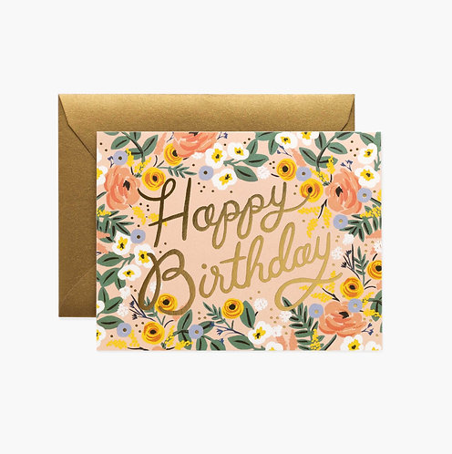 Rifle Paper co. — Carte Rosé Birthday