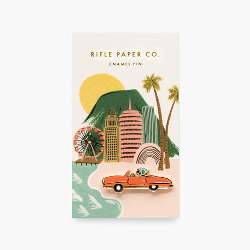 Rifle Paper co. — Pin's Décapotable