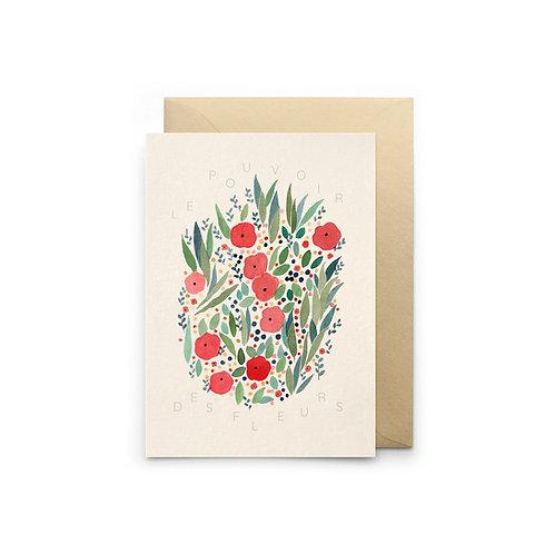 Petit Gramme — Carte Le Pouvoir des Fleurs