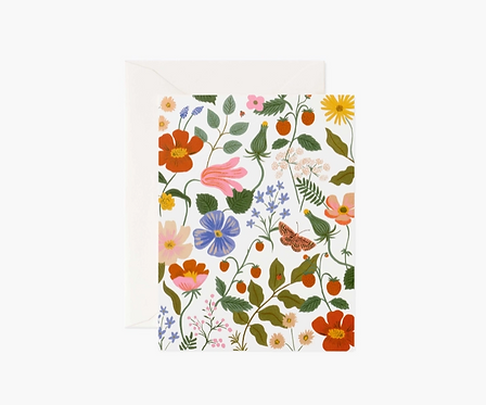 Rifle Paper co. — Carte Fields Cream