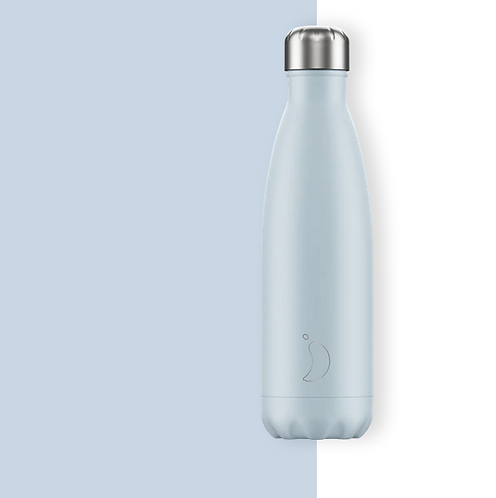 Chilly's — Bouteille Isotherme 500mL Bleu pâle