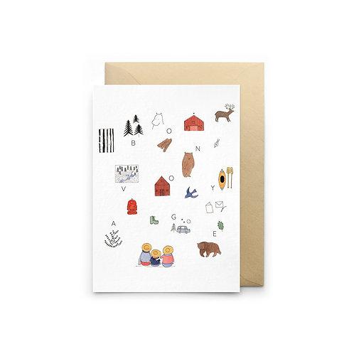 Petit Gramme — Carte Bon Voyage