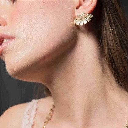 Stalactite — Boucles d'oreilles Garance