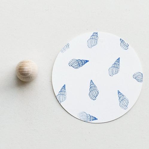 Perlenfischer — Tampon Coquillage Bulot
