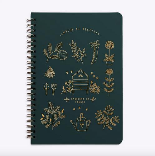 Les Éditions du Paon — Carnet de Recettes Mon Jardin vert sapin