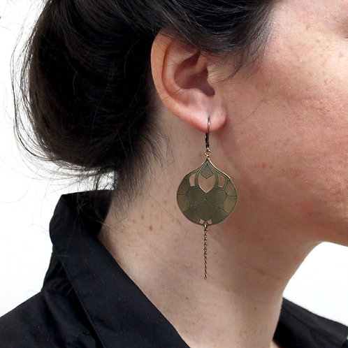 Amélie Blaise — Boucles d'oreilles Épanouie 3