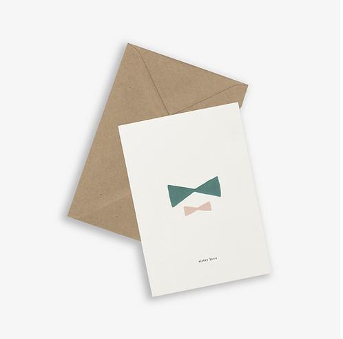 Kartotek — Carte Sister Love