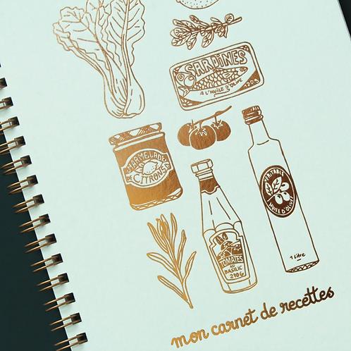 Les Éditions du Paon — Carnet de Recettes Mon Épicerie