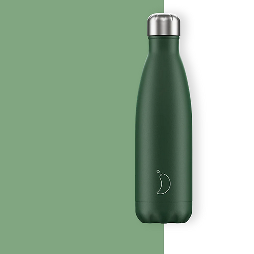 Chilly's — Bouteille Isotherme 500mL Vert Mat