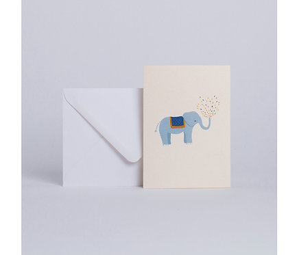 Season Paper — Carte Éléphant