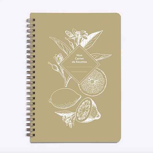 Les Éditions du Paon — Carnet de Recettes Lemonade kraft