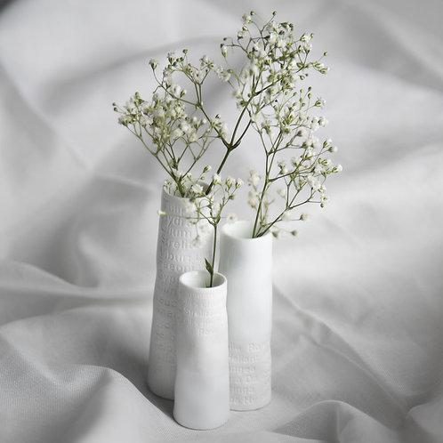 Räder — Set de 3 mini vases Poetry