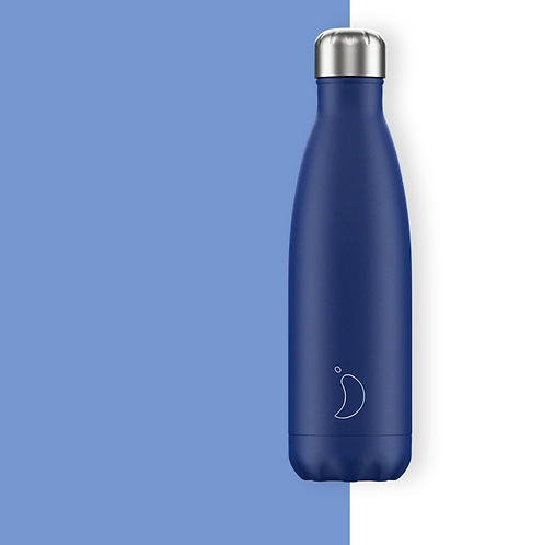 Chilly's — Bouteille Isotherme 500mL Bleu Mat