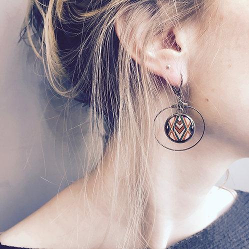 Lilipoetry — Boucles d'oreilles Créoles Maya