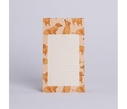 Season Paper — Bloc-notes Teckels