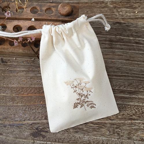 Lovely Envelopes  — Pochon coton fougère fleurie