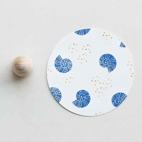 Perlenfischer — Tampon Coquillage Escargot